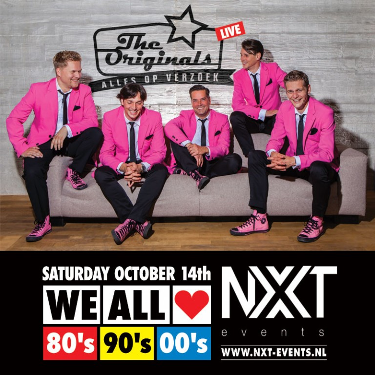 14 oktober 2017: We All Love 80s, 90s, 00s met The Originals, NXT events Gemert