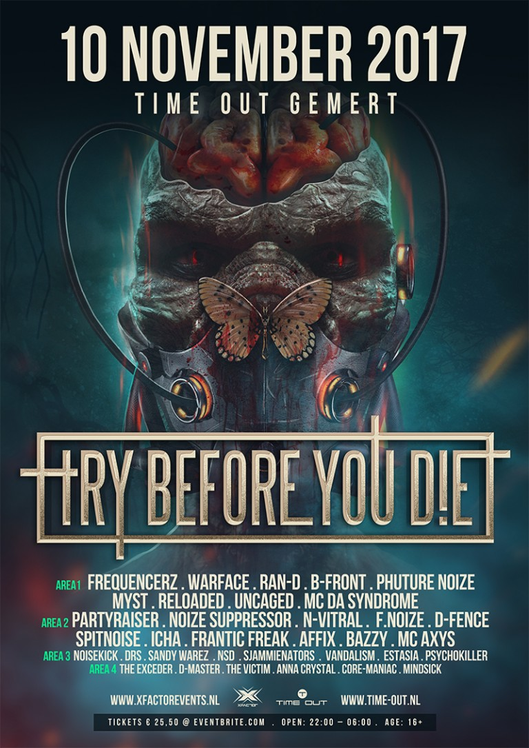 Try Before You Die 2017, NXT events, NXT Gemert, Time Out Gemert, TBYD 2017