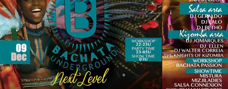 9 december Bachata Underground, NXT events, Gemert