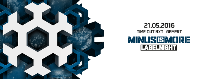 Minus Is More NXT 21 mei 2016