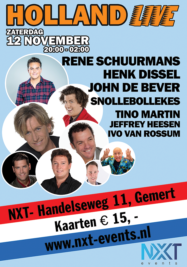 Holland Live - 12 november 2016 - NXT Gemert