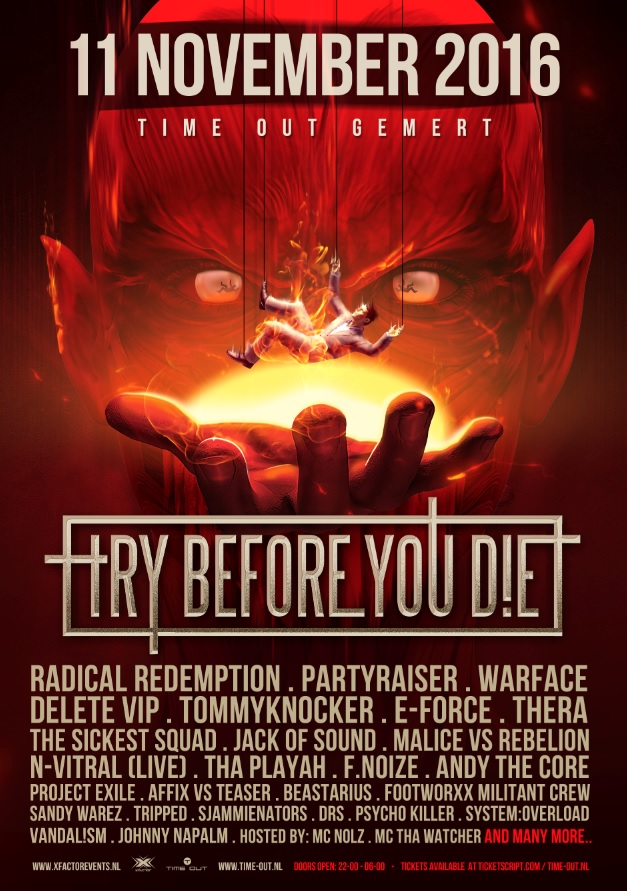 Try Before You Die 2016 Time Out NXT