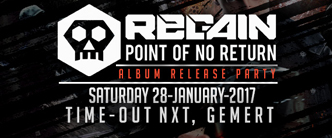 Regain Point of No Return Album Release Party, 28 january 2017 Time Out NXT Gemert