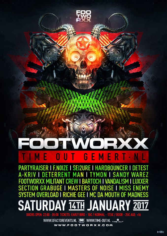 footworxx time out gemert nxt events