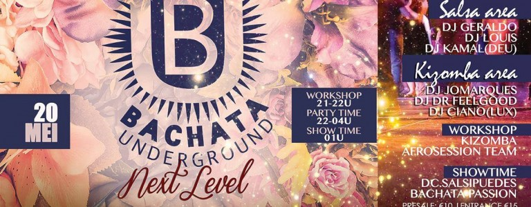 Bachata Underground, NXT events, Gemert, 20 mei 2017