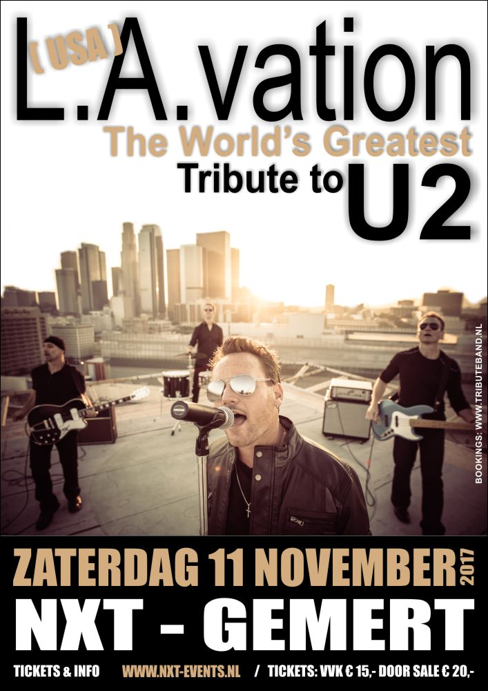 L.A. Vation | Worlds Greatest U2 Tribute Band