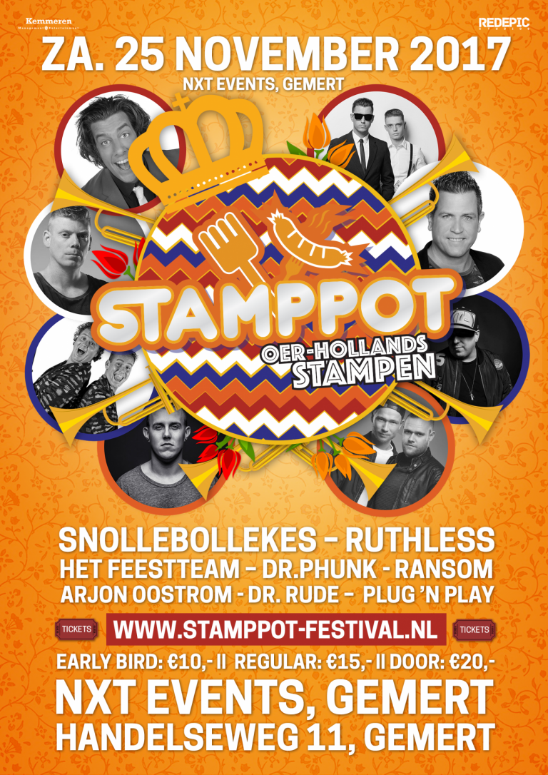 Stamppot, NXT events, Stamppot Gemert, hardstyle