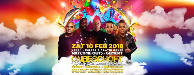 Onbeschoft, Urban festival, carnaval urban, R&B, hiphop, nxt events