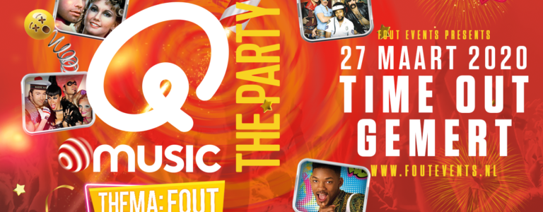 Q music The Party FOUT Gemert